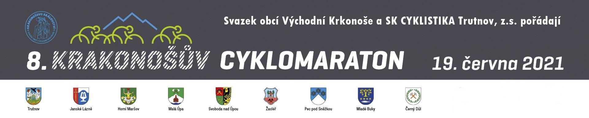 Krakonošův cyklomaraton aneb poprava vedrem (140 km, Trutnov)
